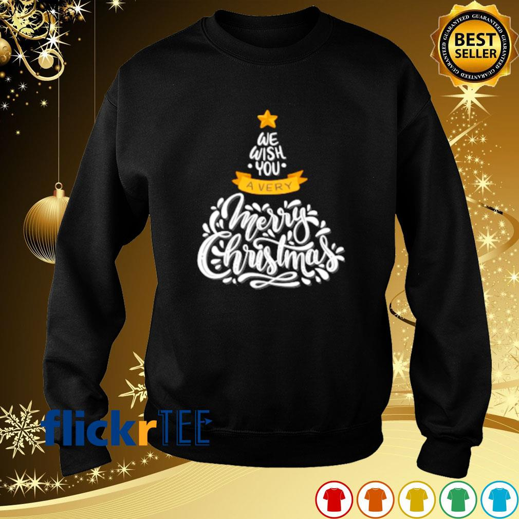 We wish you a very merry Christmas s sweater