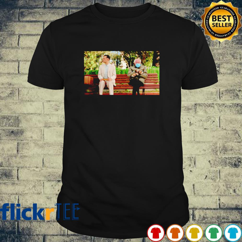 Bernie Sanders and Forest Gump sitting shirt