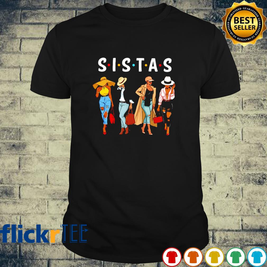 Friends Sistas Afro Women together shirt