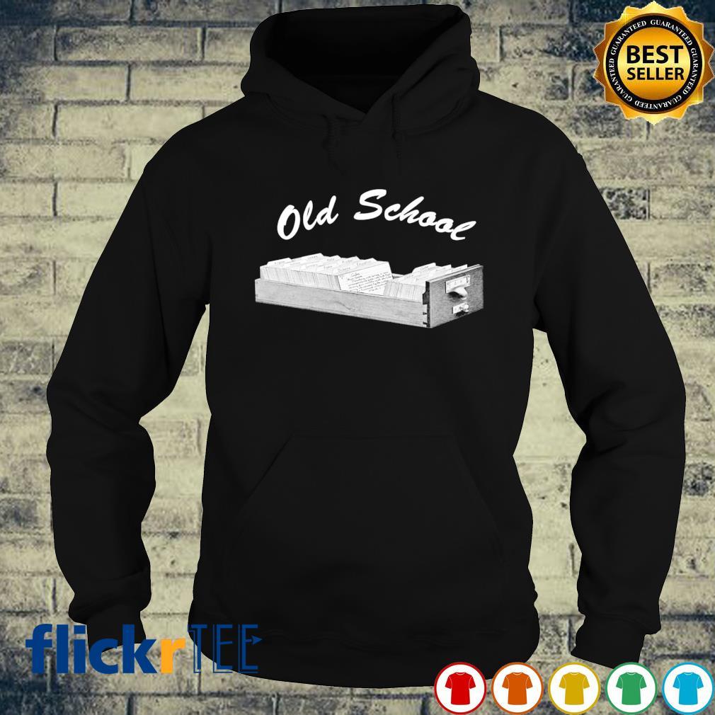 Librarian old school s hoodie