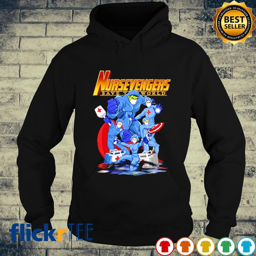 Nurse Avengers Nursevengers save the world Coronavirus s hoodie