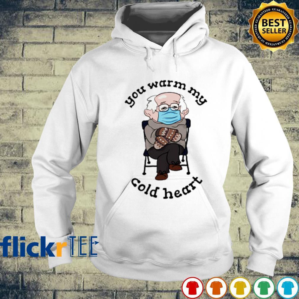 You warm my cold heart Bernie Sanders mittens s hoodie